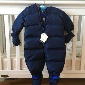 ❄️ NWT GAP Baby snowsuit